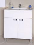 Ormarić Cordoba 75 bela, donji deo sa lavaboom