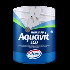 AQUAVIT Eco BELI SATEN vodeni emajl 0,75 lit