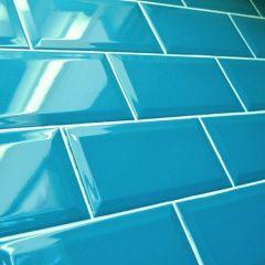 BISELADO Aqua Blue 10x20