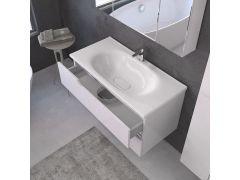 Ormarić EURI WHITE 100cm donji sa lavaboom