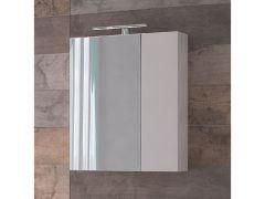 Ogledalo-ormarić EURI WHITE 60cm LED
