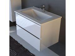 Ormarić EURI F WHITE 75cm donji sa lavaboom