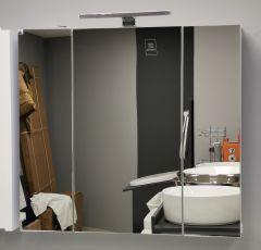 Ogledalo-ormarić EURI WHITE 75cm LED