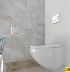 PEŠTAN Fluenta konzolna WC šolja RIMLESS