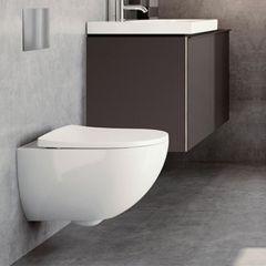 GEBERIT Acanto RIM-FREE WC šolja konzolna + daska