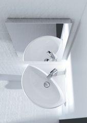 GEBERIT Selnova lavabo ugaoni 41 cm