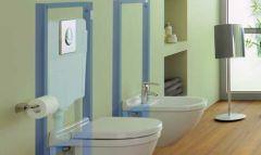 KOMPLET Grohe HROM ovalna tipka, set sa WC šoljom