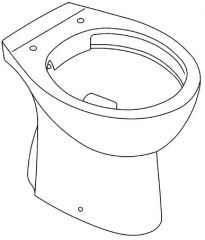 GROHE Bau WC šolja klasična RIM-FREE