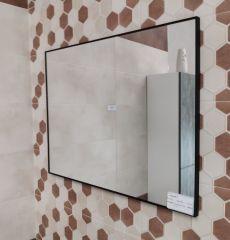 Ogledalo CONCEPT crno 80x60 cm