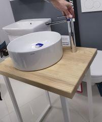 Lavabo CREA 38 cm + JASEN 60