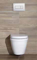 KALE viseća WC šolja i bide IDEA
