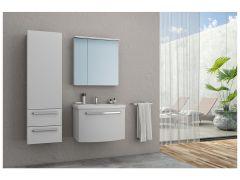 KOLPA Adele ormarić sa lavaboom BELI 70 cm