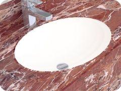 ALVIT Hilton podgradni lavabo 51x39 cm