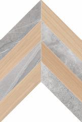 WOOD Ladin Grey-Almond 40x60