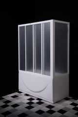 Paravan 180x80 cm za kadu PVC