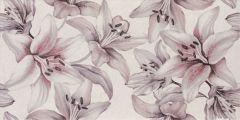 PORTO Gray Flower 25x50