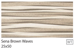 SENA brown Waves 25x50