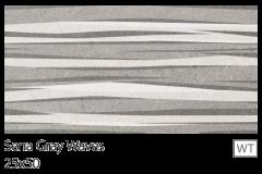 SENA gray Waves 25x50