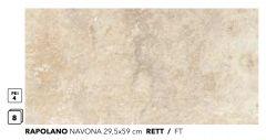 RAPOLANO Navona 29,5x59 RETT