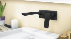 ROSAN Stolz Crna za lavabo zidna 131401BB