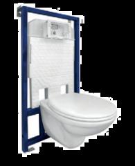 KOMPLET VISAM ugradni vodokotlić sa WC šoljom i daskom