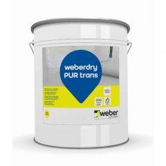 Hidroizolacija weberdry PUR providna 5kg